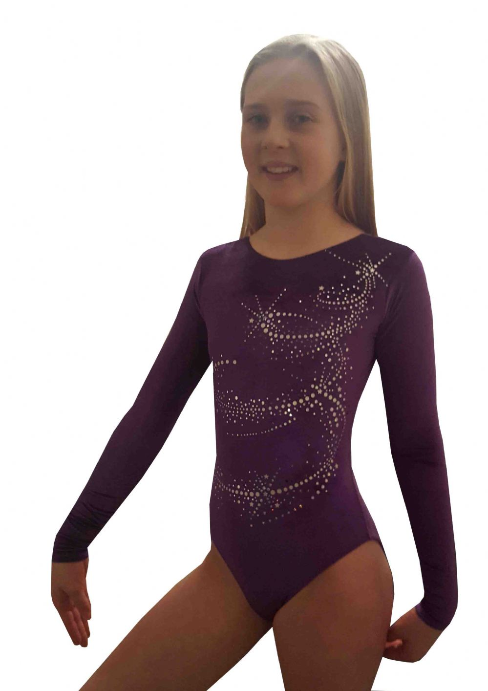 COSMIC PURPLE VELOUR LONG SLEEVED From only £29